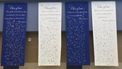 High School Students commit to excellence/service