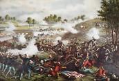 The Begininng of the Battle of Bull Run
