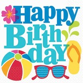 Happy Birthday to all our summer babies!