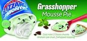 Dairy Queen Grasshopper Mousse Pie Blizzard