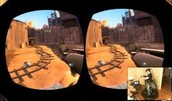 1st person view of oculus rift