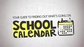 Revised Dates for 2016-2017 School Calendar