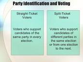 StrIaight Vs. Split Ticket Voting