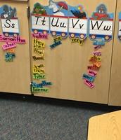 WoW Word Wall