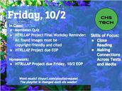 Friday, 10/2