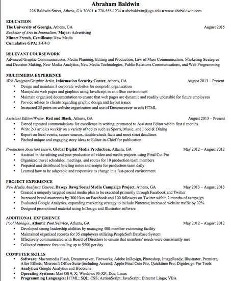 Grady Jobs & Internships | Smore Newsletters for Education