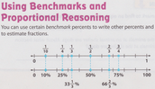 Benchmark Fractions and Percents