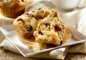 Healthy Breakfast - Grape Nut Muffin