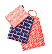Zippy pouch trio (was part of our Autism Awareness boutique)