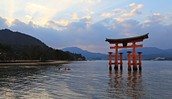 Kayak in the Sea of Japan