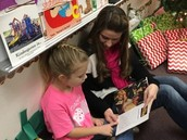 One-on-one reading with expository text.