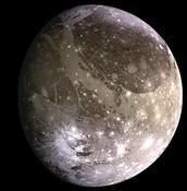 The Ganymede moon