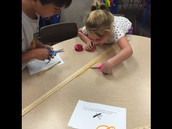 Using measuring tools properly AND working collaboratively helps get the job done!