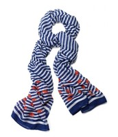 Navy striped scarf $30.00 - SOLD