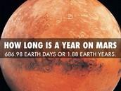 Years on Mars