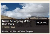 Leh Ladakh Bike Tour Packages