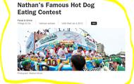 Nathans Famous Hotdog Eating Contest