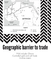 Geographic Barriers and entrance of Muslim traders