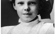 Amelia Earhart as a child