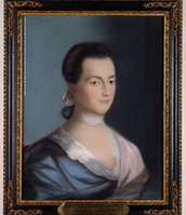 Portrait of Abigail as the first lady.