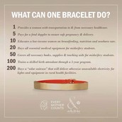 What can 1 bracelet do?