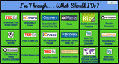 "Refreshed ""I'm Through, What Should I Do?"" Sheet"