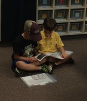 Partner Reading in KInder