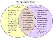 Rosa Parks & Jackie Robinson