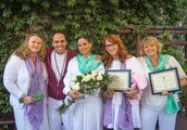 Graduation Ceremony, Pot Luck dinner & Party at Shahr Salon & Wellness