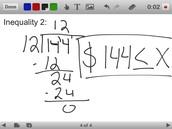 One-Step Inequality 2