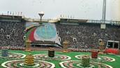 Opening ceremony stadium