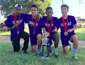 Cross Country - 1st Place