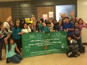 Virginia Court Student Council are the green movers & shakers at their school