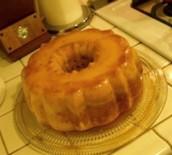 El pastel de flan