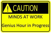 Introducing Genius Hour!!