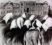 Imagen ilustrativa de las marchas de cada jueves