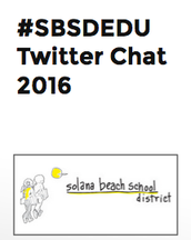 The First #SBSDEDU Twitter chat is coming!!