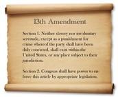 Slide 2: The 13th Amendment