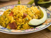 Traditional Puerto Rican Dish