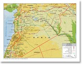 Syria's Geographical Features