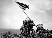Battle of Iwo Jima Flag Raising