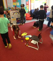 1b - searching for symmetrical objects in the classroom