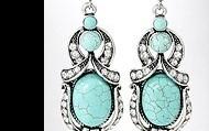 Turquoise Earrings $5
