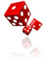 What is the probability of tossing an even number?