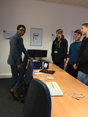 Employment and Careers attend open event at 3aaa