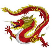 Flying dragon ice hockey team