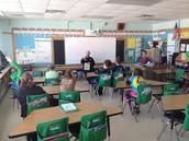 Officer Nelson in Mr. Schmidtbauer's Class