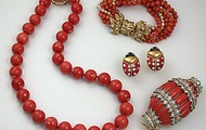 Coral jewellry