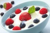 Letter Y: Yogurt