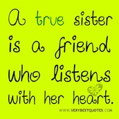True Quotes about sisters
